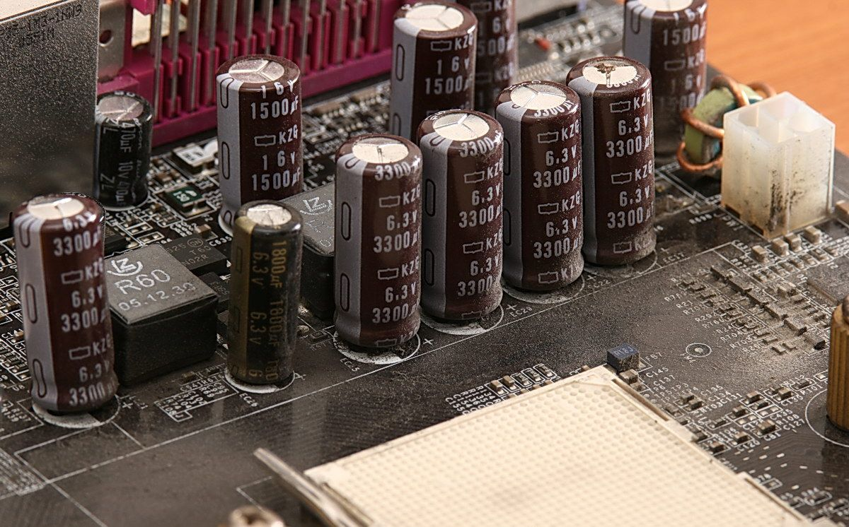 Capacitor Motherboard