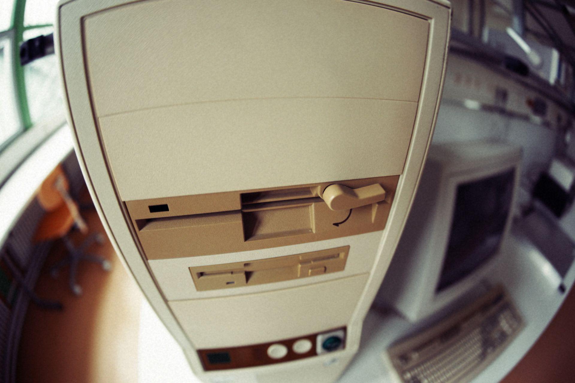 PC con Botón Turbo (imagen de Thanawat Thiasiriphet).