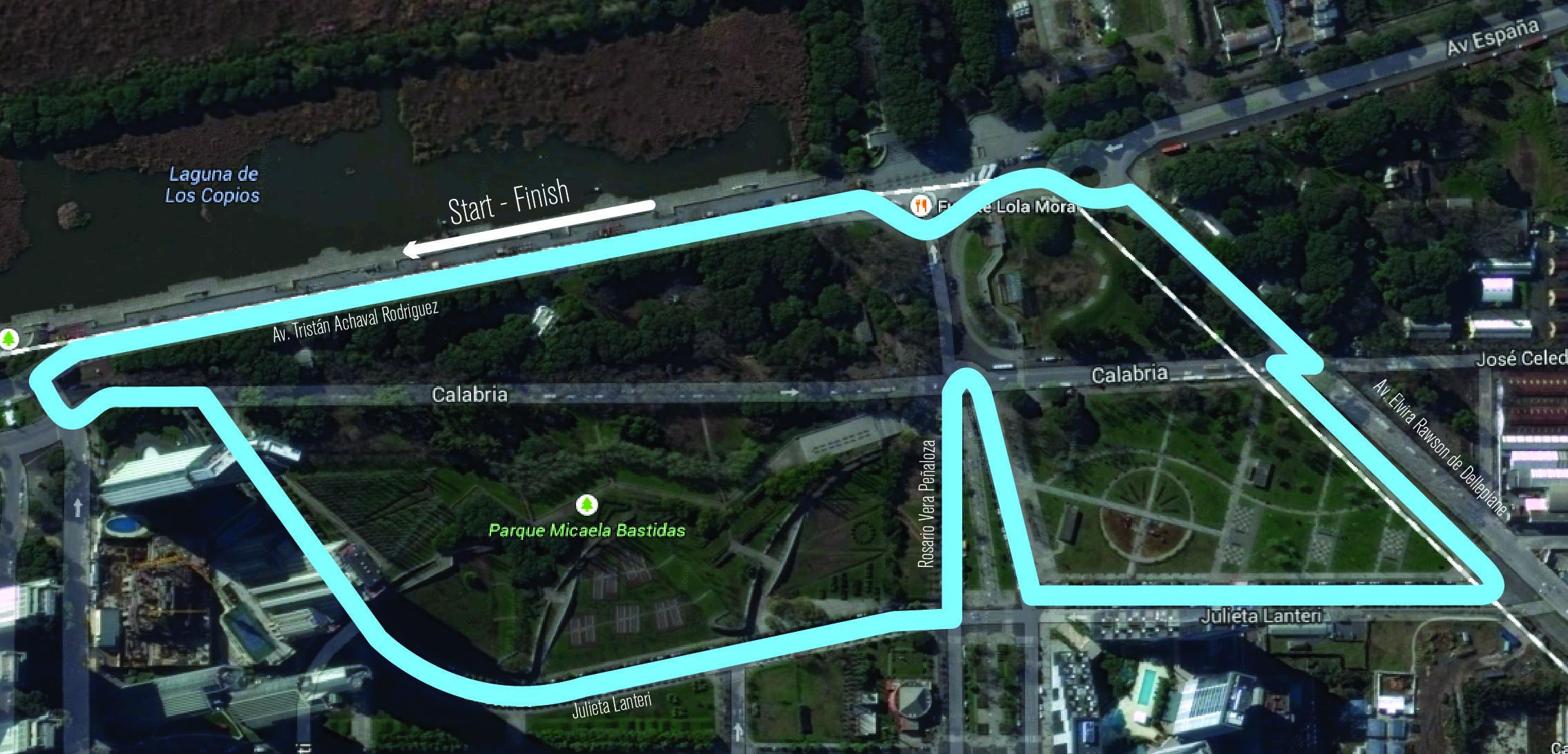 Circuito Kdt Buenos Aires : Cómo será el circuito de la formula e en buenos aires