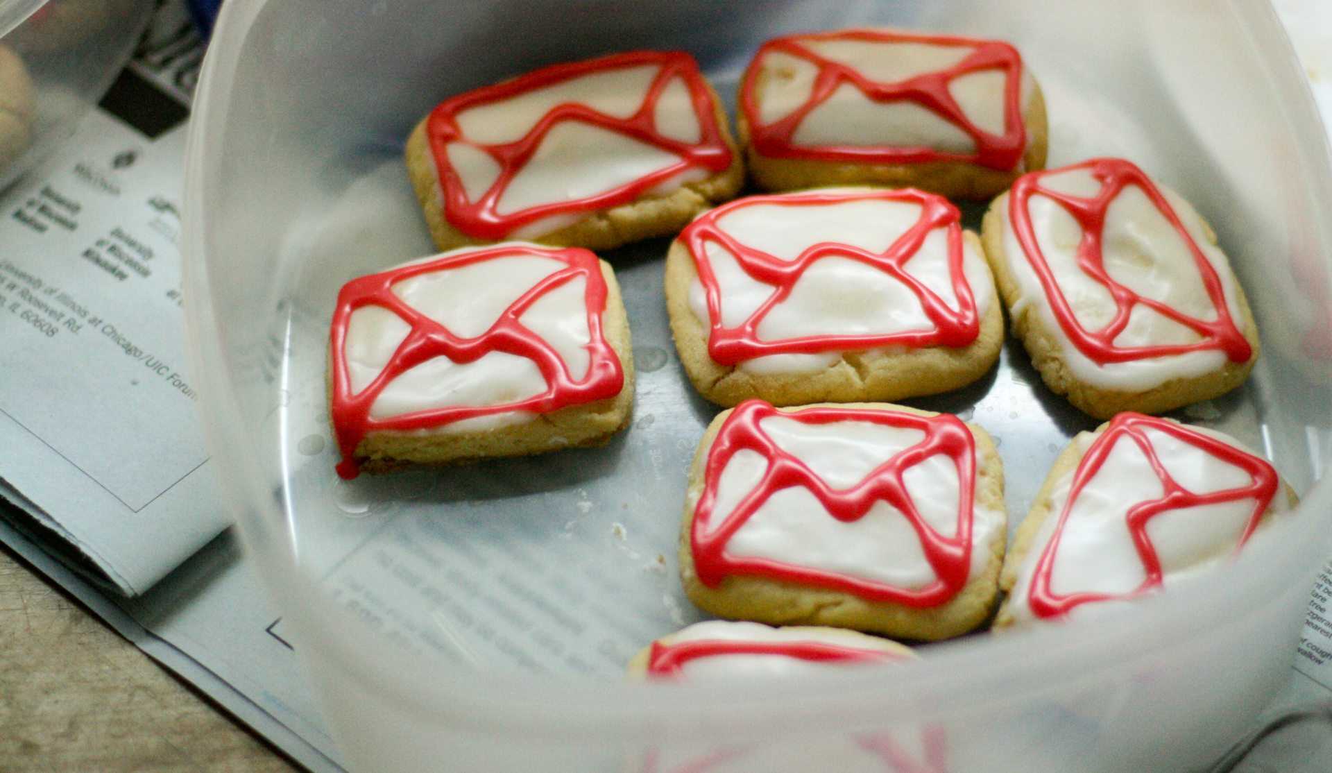 Galletitas de Gmail
