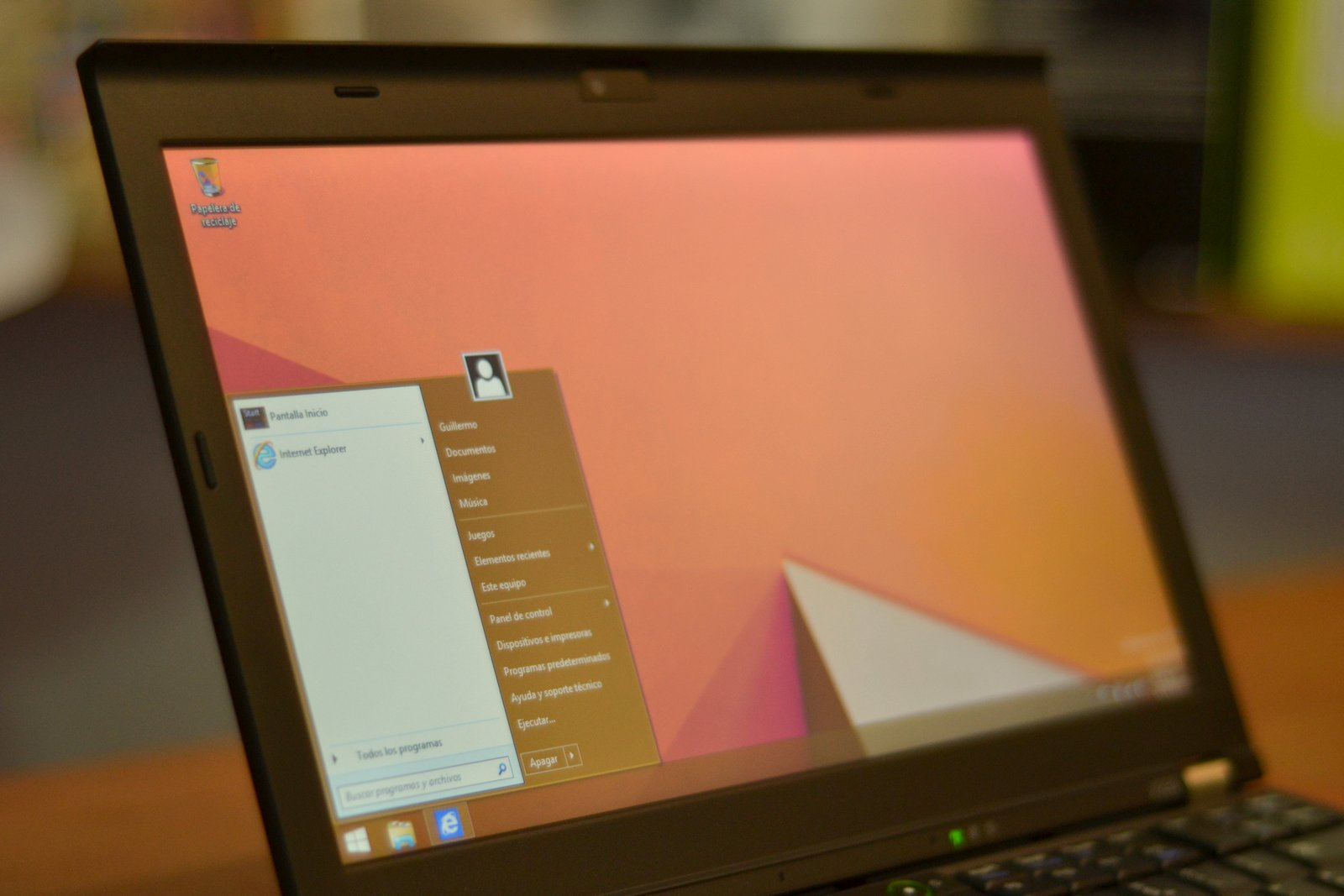 Windows 8 en X220