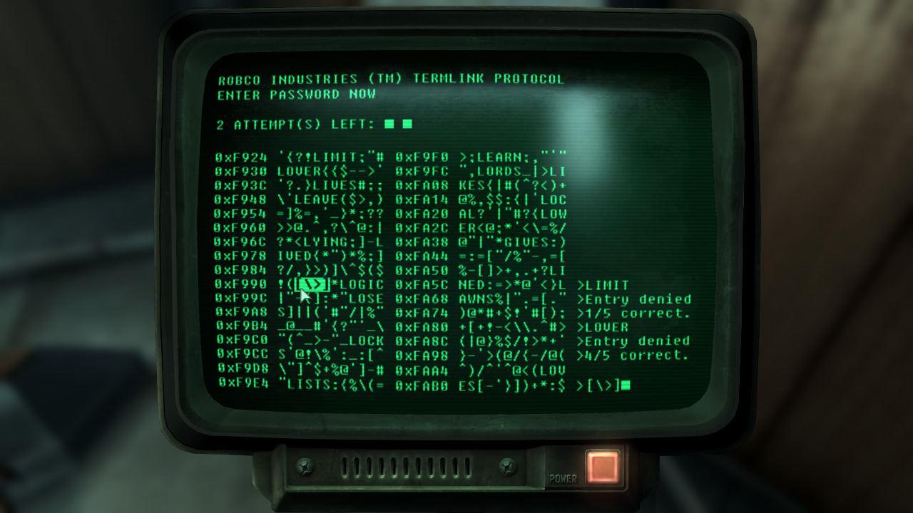 Monitor viejo con letras verdes