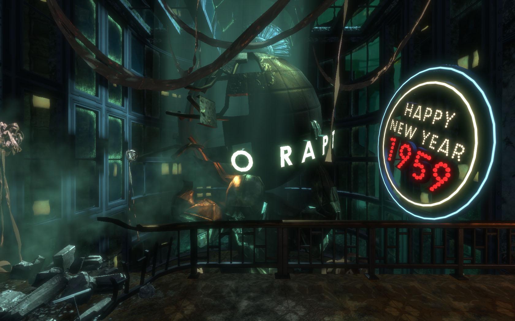 Steampunk. Horror. FPS. Bioshock es una obra maestra.