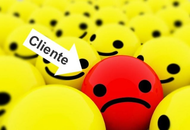 Cliente triste