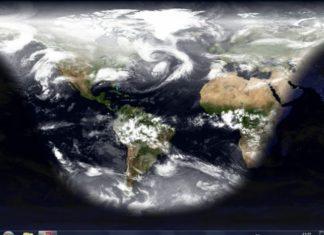 Wallpaper tierra desde el espacio