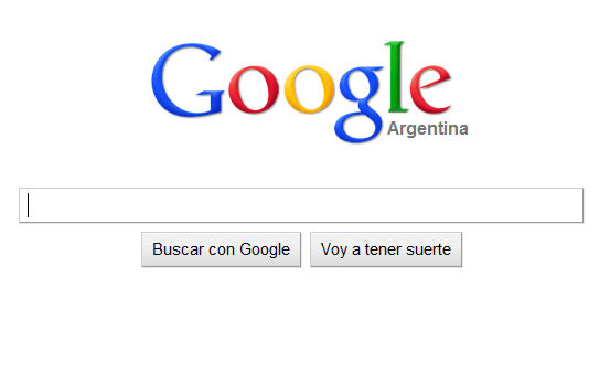 Interface nueva de Google