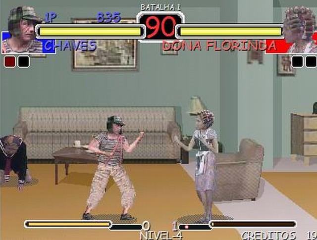 el juego de peleas: