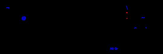 Disposición de teclado latinoamericano
