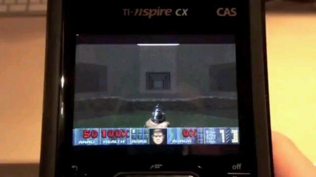 Doom 2 en una calculadora