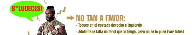 Genial anuncion de Fiat Spazio en Mercadolibre