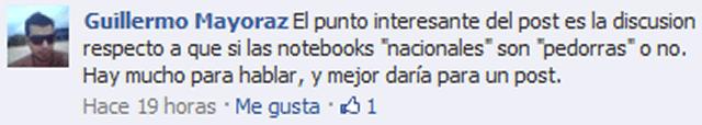 Charla en Facebook