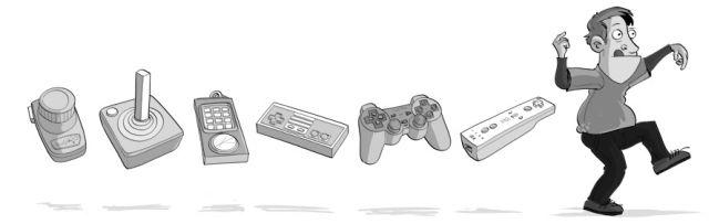 Gamepads + Hombre