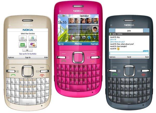 Nokia C3's