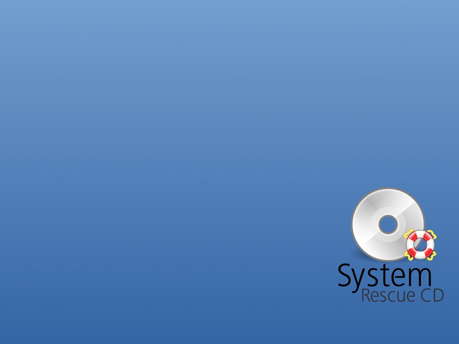 Gracias por todo System Rescue CD...