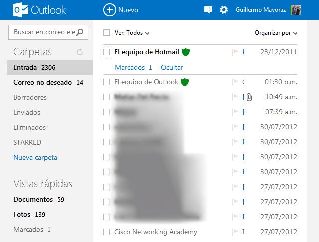 El nuevo hotmail es Outlook