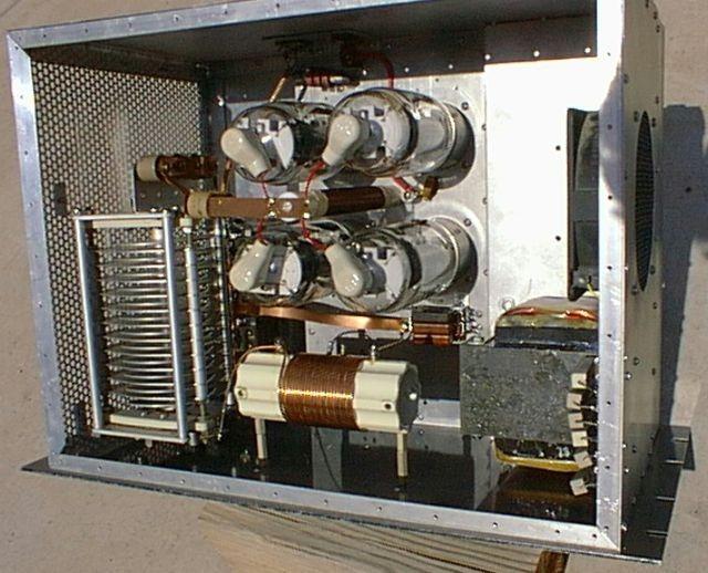 Amplificador lineal valvular