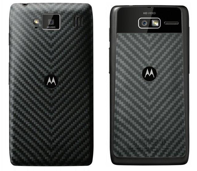 Motorola RAZR de atrás