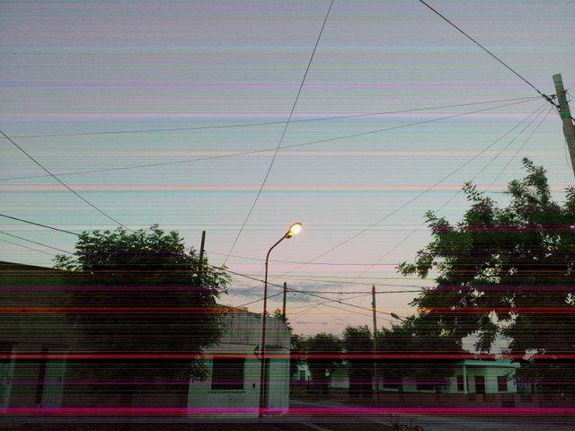 Fotos con rayas horizontales