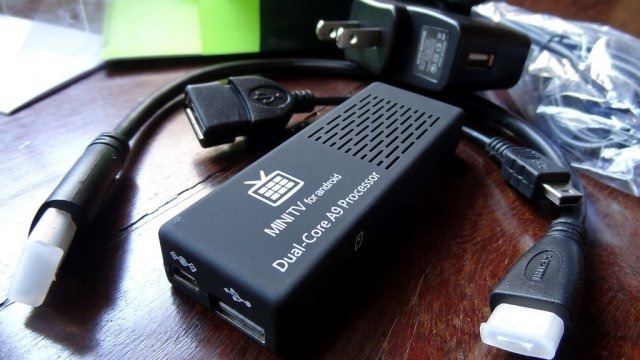 MK 808 Smart TV BOX con Android