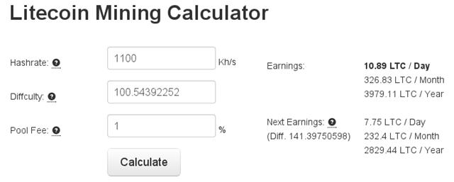 calculadora-litecoin