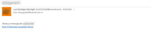 Hotmail bloqueado