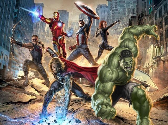 Personajes de Marvel en el cine