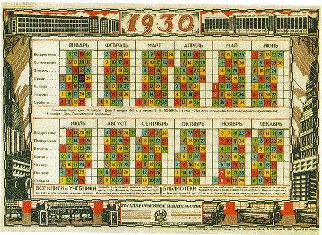 calendario sovietico