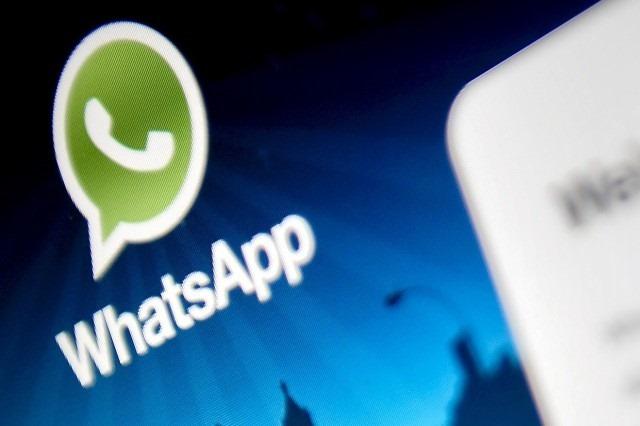 WhatsApp en pantalla