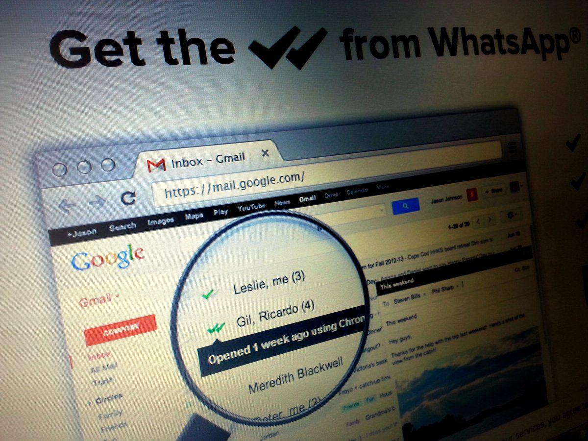Acuse de recibo en Gmail