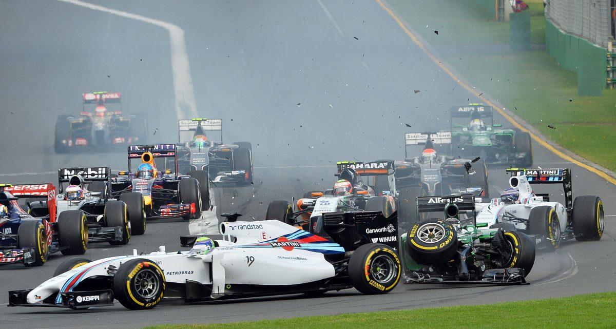 F1 2014 Accidente Australia