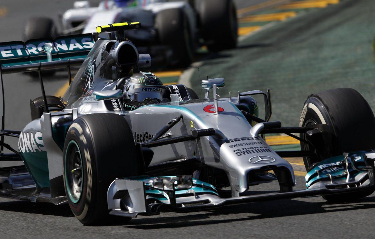 F1 2014 Nico Rosberg Mercedes
