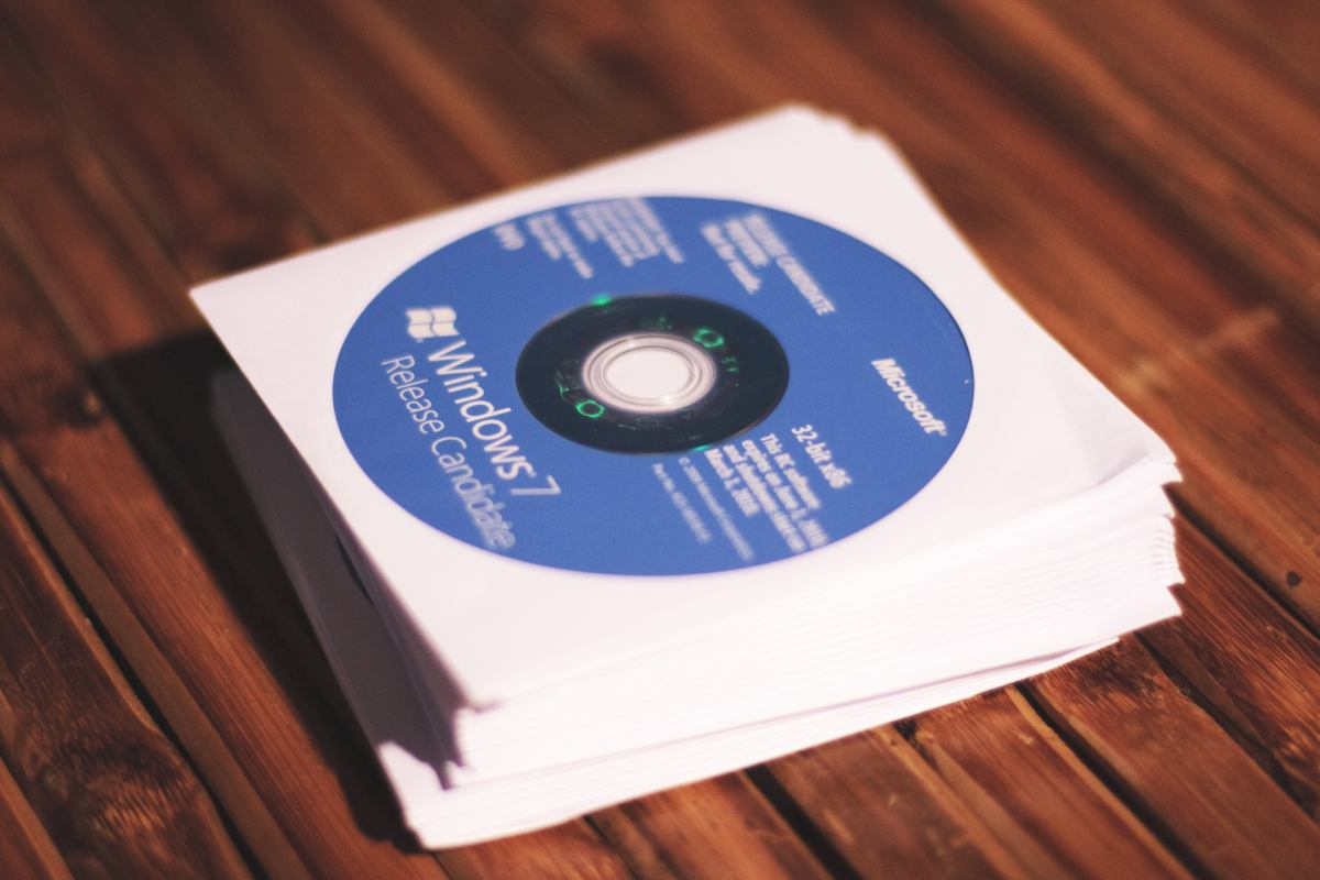 Windows 7RC DVD's