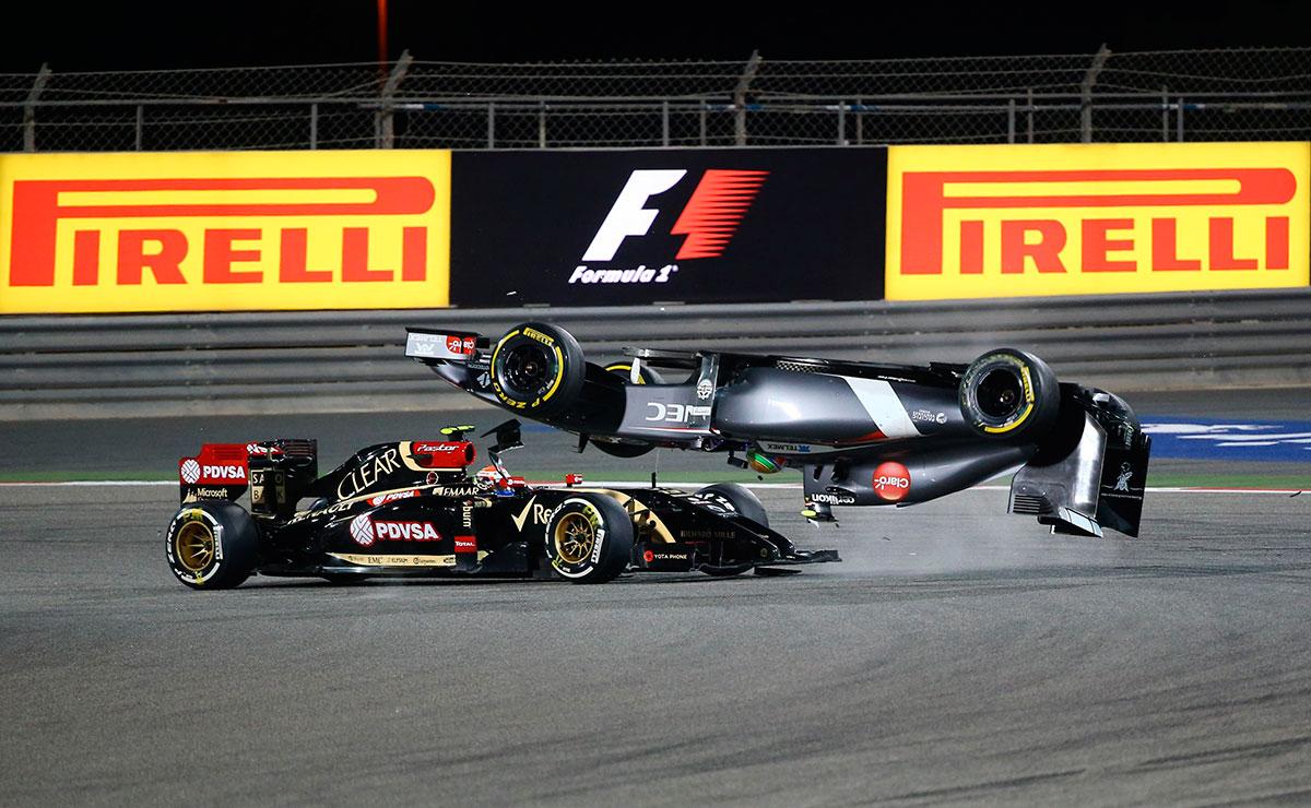 F1 Bahrein accidente Sauber