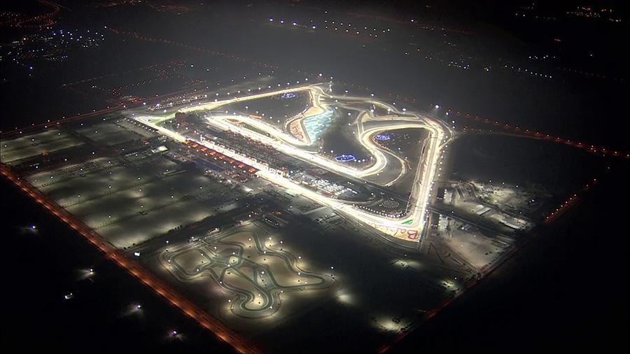 F1 bahrein circuito nocturno