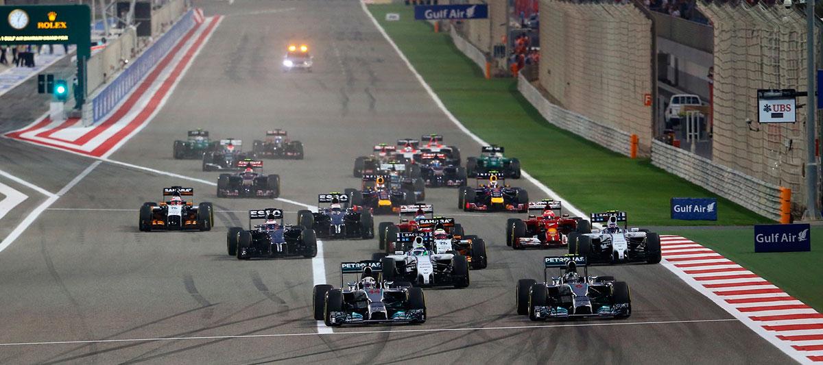 F1 bahrein largada