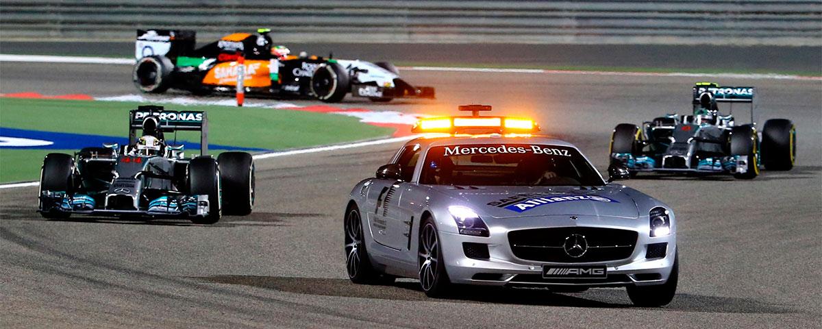 F1 bahrein safety car