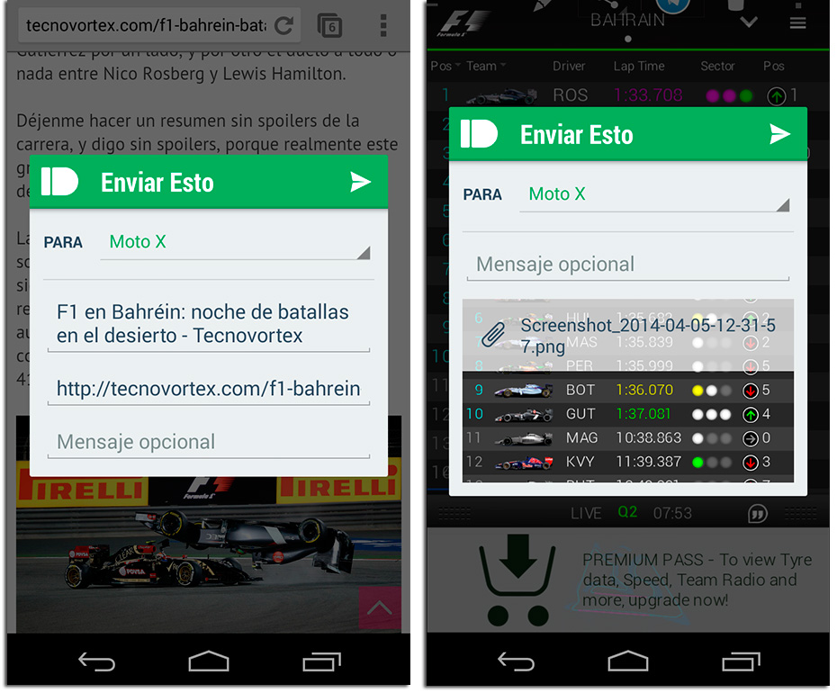 Pushbullet Screenshot 2 versión 14