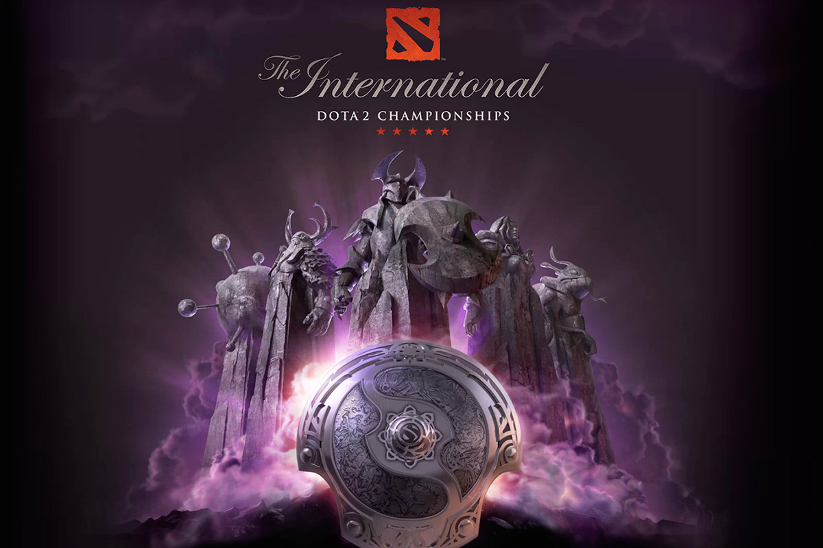 Dota 2 The International 4 Poster