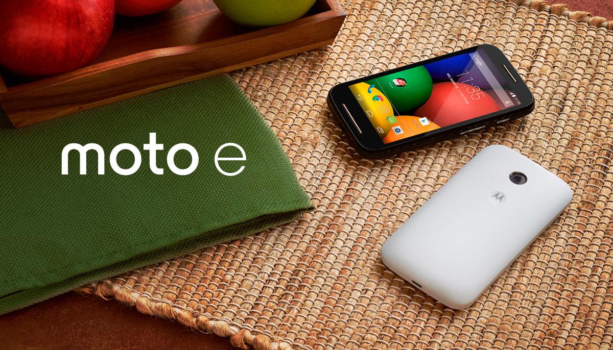 Moto E promo