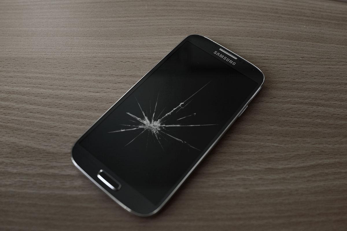 Samsung Galaxy S4 roto