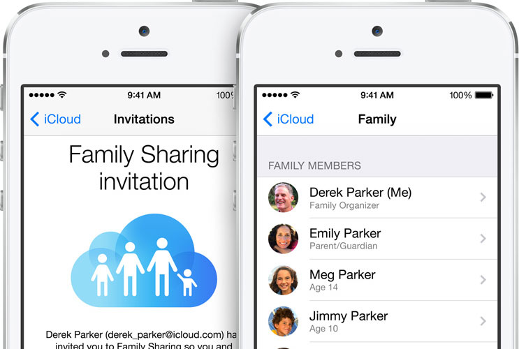 Family Sharing iOS