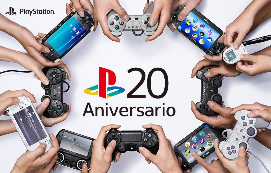 Playstation 20 aniversario