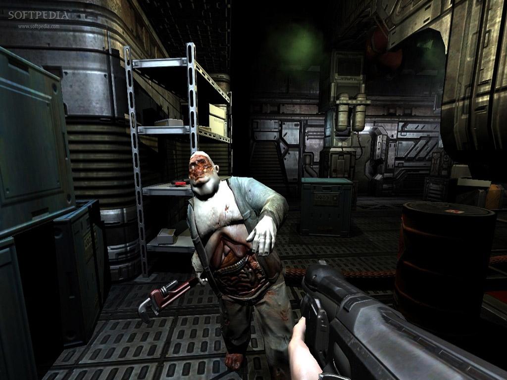 Aunque no lo crean, ésto es del año 2004 (Doom 3).