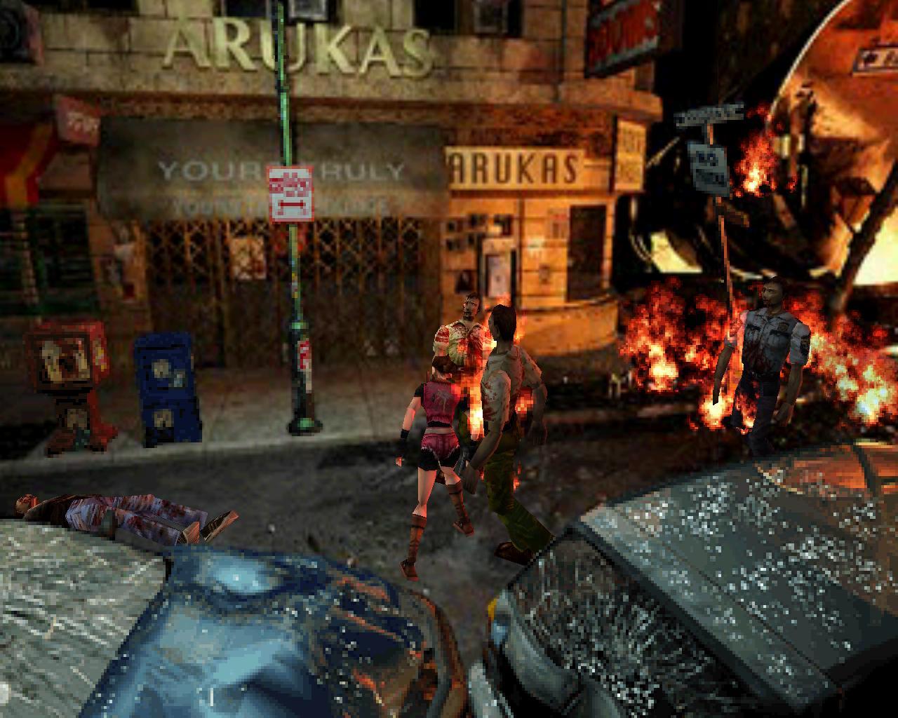 """Resident Evil 2 o """"si, posta que ésto asustaba"""""""