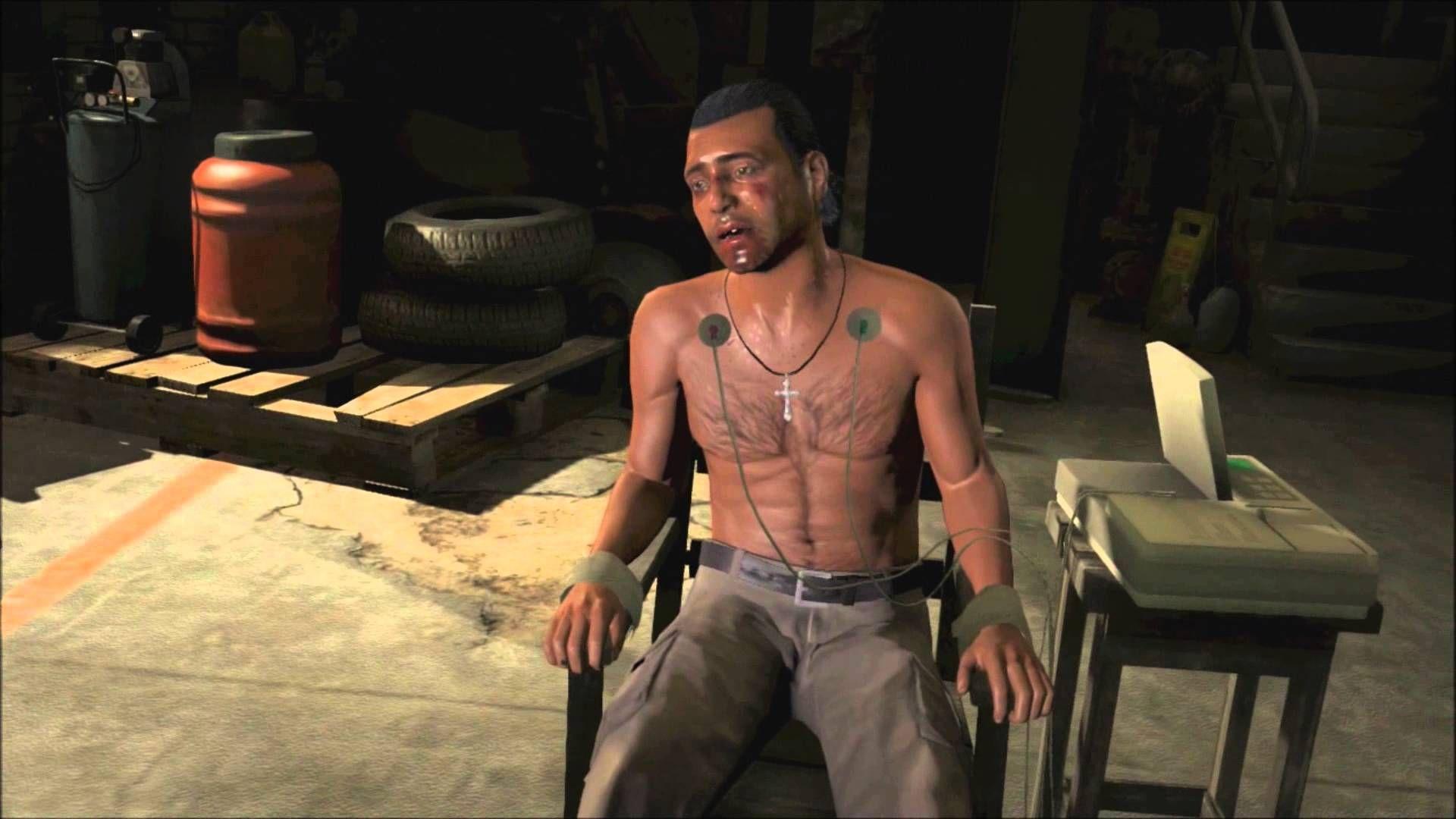 En GTA V existen escenas de torturas. Si, torturas.