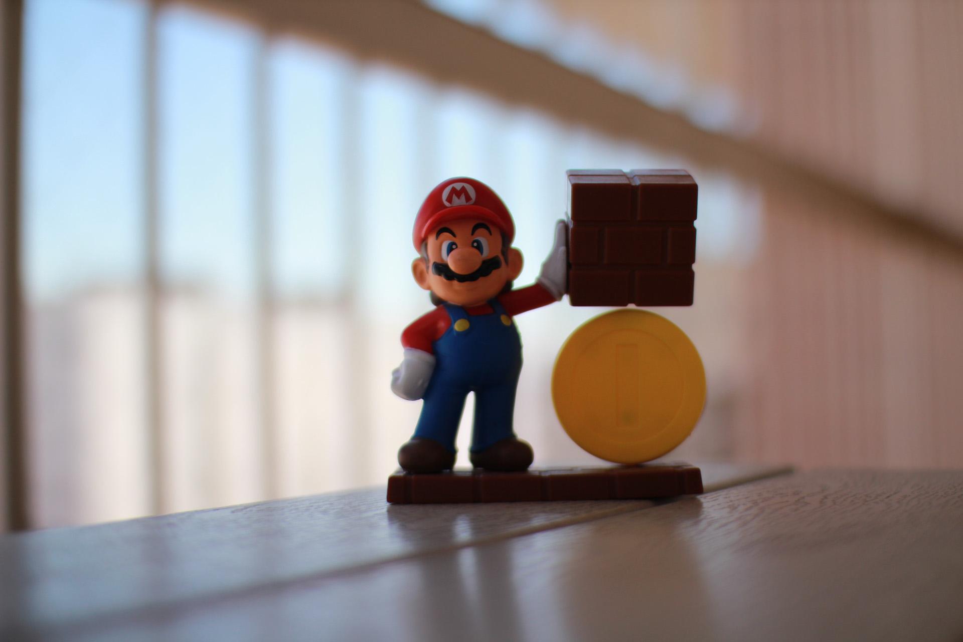 Mario en f/1.4