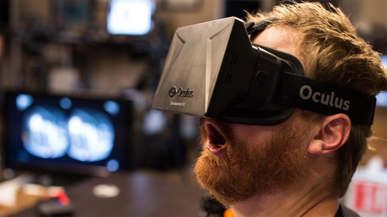 Pocas reacciones explican mejor el Oculus Rift que ésta.