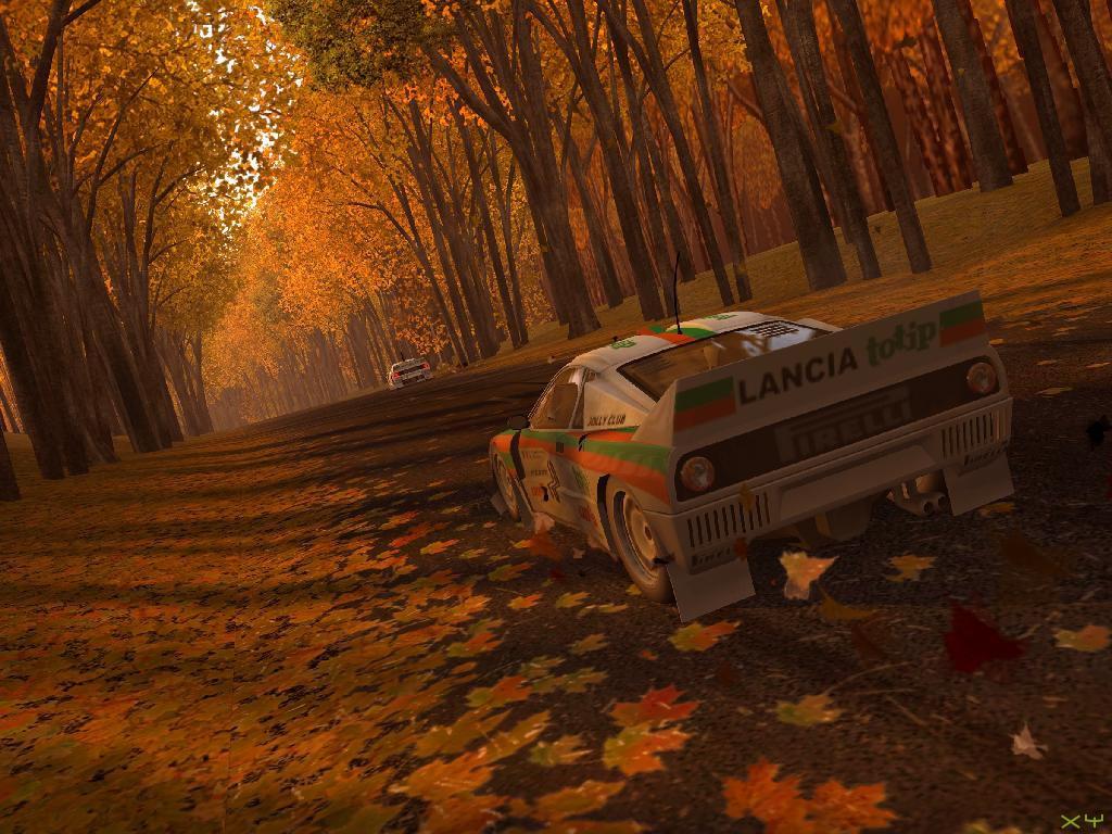 Esta captura es del Rally Sports Challenge 2 de XB-ONE y la pongo porque está jodido encontrar del primero