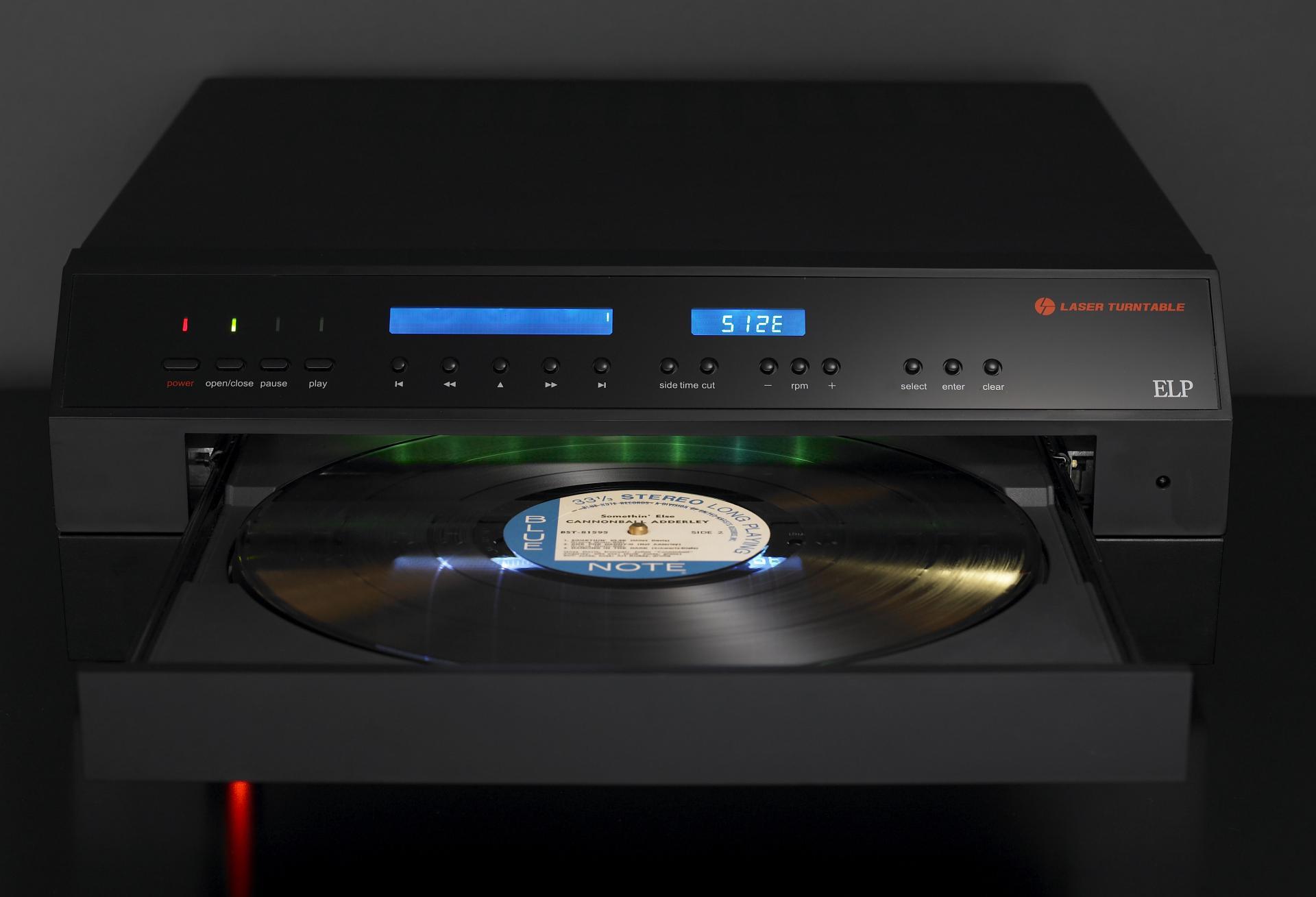 ELPJ: el lector láser de discos de vinilo