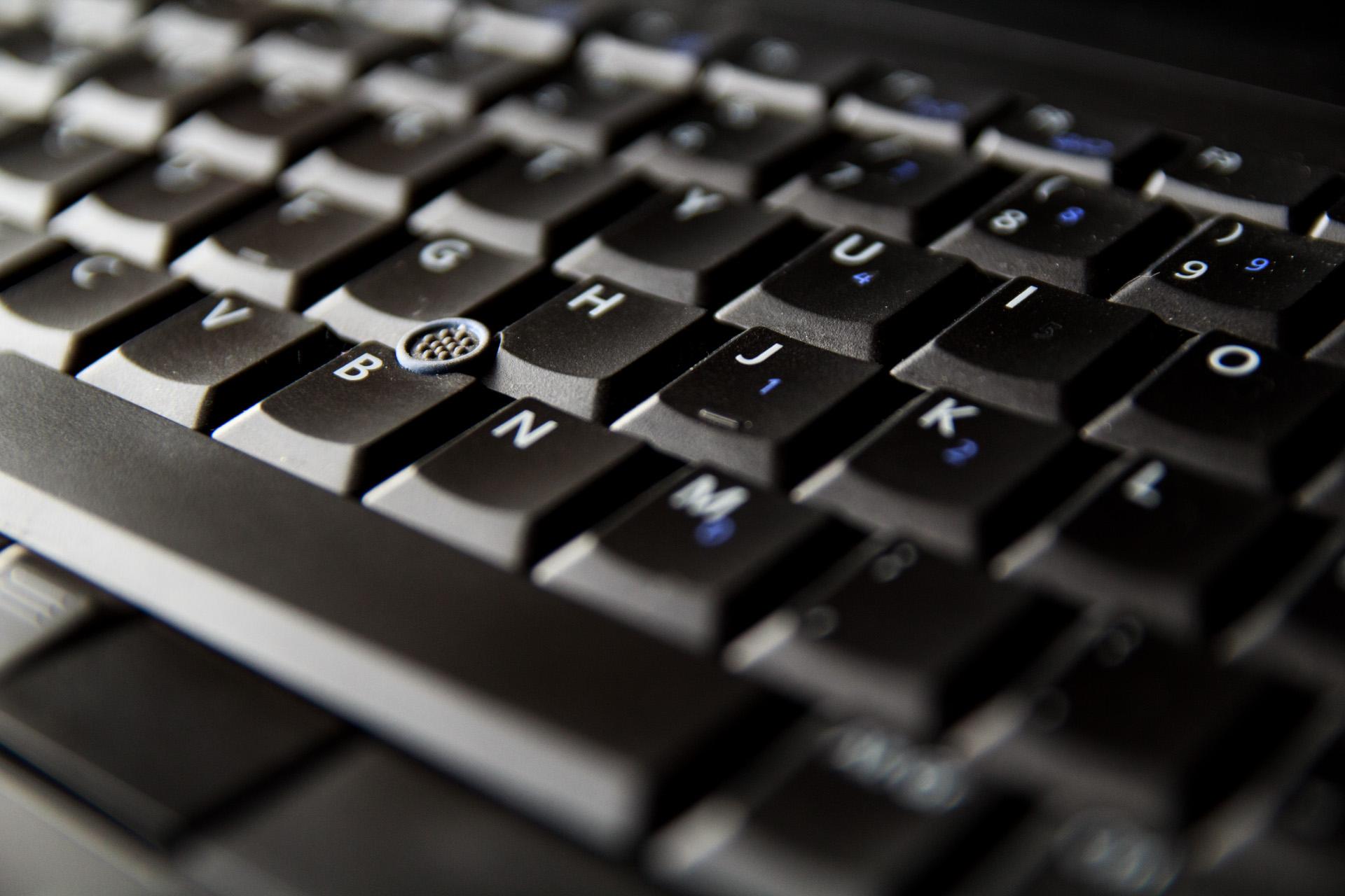 """""""Clit mouse"""" y un teclado casi perfecto, features robados a IBM que agradezco mucho."""